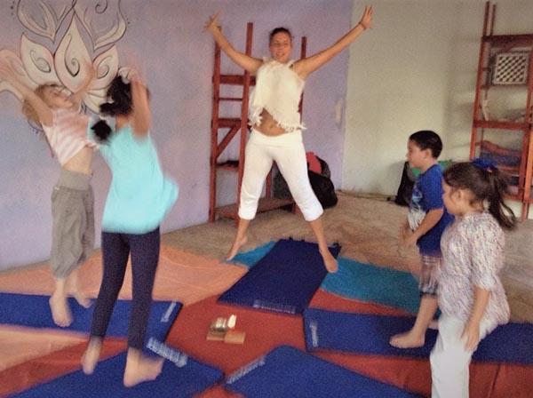 Anke Follmer, Tonantzin Yoga & Massage, Kinderyoga